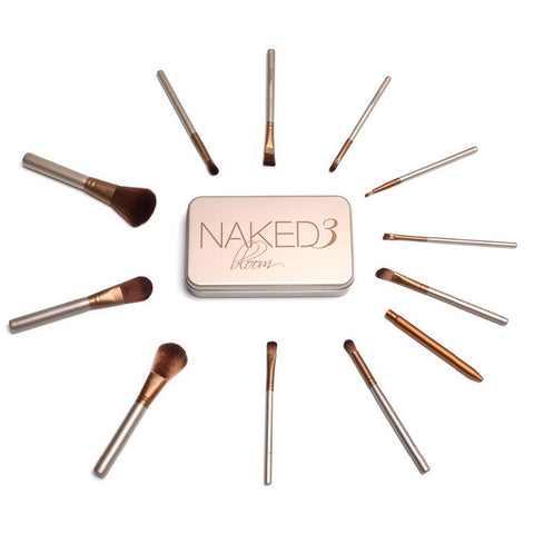Set 12 Pinceles Naked3 Brochas Maquillaje