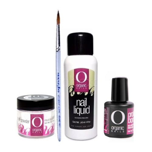 Kit Uñas Acrilicas Organic Nails Mon. 60ml