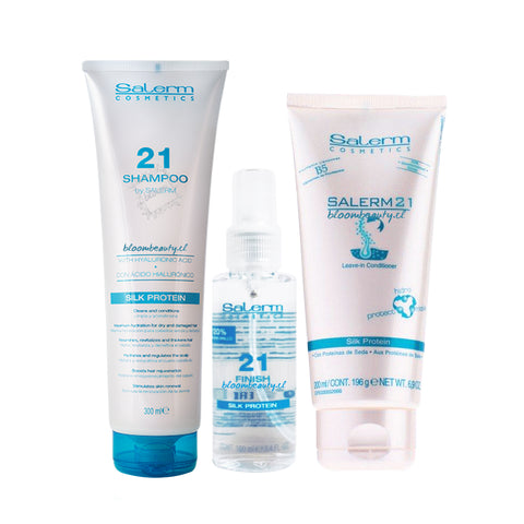 SALERM 21 Kit Shampoo + Finish + Crema 200 ML