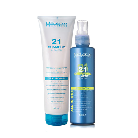 SALERM 21 Kit Shampoo + Ac. express