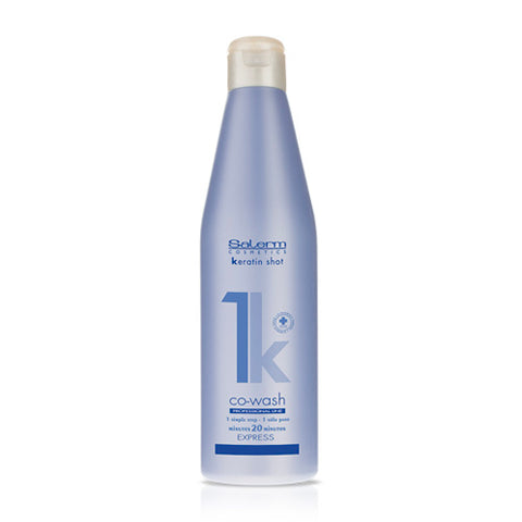 SALERM Alisado progesivo Keratin Shot Co-Wash 500 ML