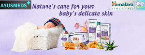 Himalaya Baby Care now available at Ayusmeds.