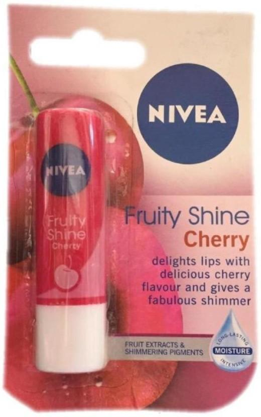 Nivea Fruity Shine Cherry Caring Lip Balm
