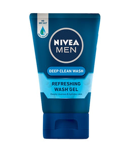 Nivea Men Deep Clean Refreshing Face Wash Gel