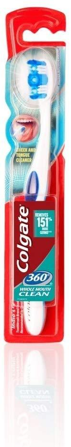 Colgate 360 Whole Mouth Clean Toothbrush Medium