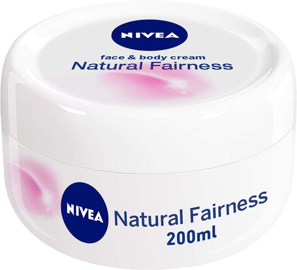 Nivea Natural Fairness Face & Body Cream