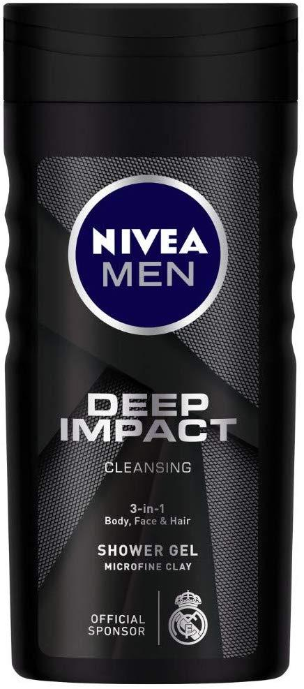Nivea Men Deep Impact Shower Gel - Cleansing