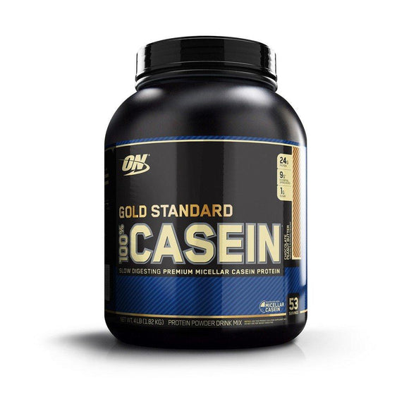 Optimum Nutrition (ON) Gold Standard 100% Casein Chocolate Peanut Butter