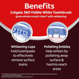Colgate 360 Visible White Toothbrush