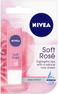 Nivea Soft Rose Caring Lip Balm