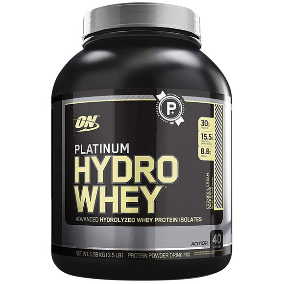 Optimum Nutrition (ON) Platinum Hydro Whey Cookies and Cream