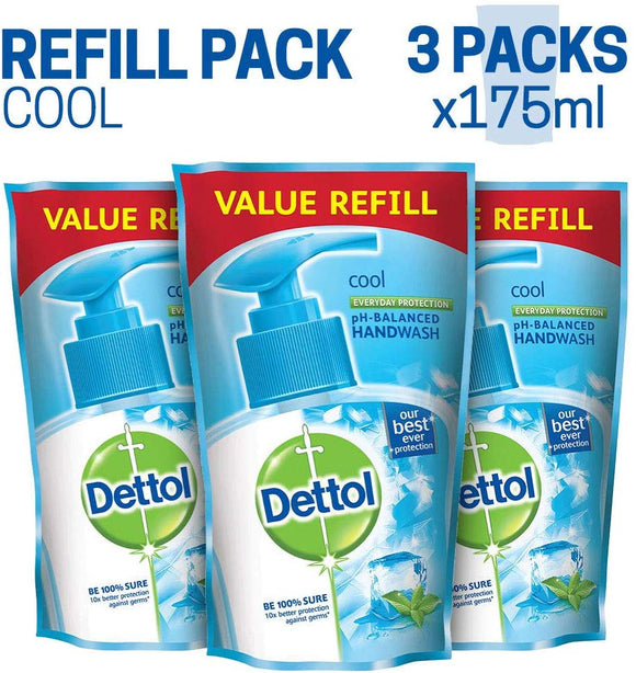 Dettol Cool Liquid Handwash Refill (Buy 3, Save Rs. 64)