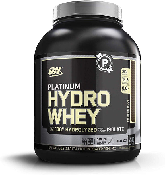 Optimum Nutrition (ON) Platinum Hydro Whey Turbo Chocolate