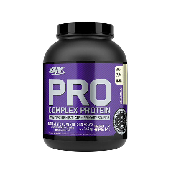 Optimum Nutrition (ON) Pro Complex Protein Whey Protein Isolate Creamy Vanilla