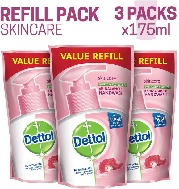 Dettol Skincare Liquid Handwash Refill (Buy 3, Save Rs. 64)