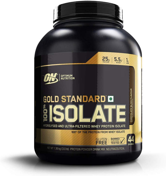 Optimum Nutrition (ON) Gold Standard 100% Whey Isolate Chocolate Bliss