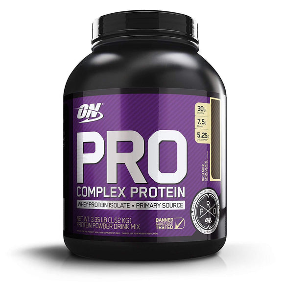 Optimum Nutrition (ON) Pro Complex Protein Whey Protein Isolate Rich Milk Chocolate