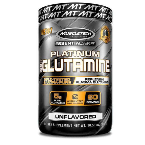 Muscletech Essential Series Platinum 100% Glutamine Powder