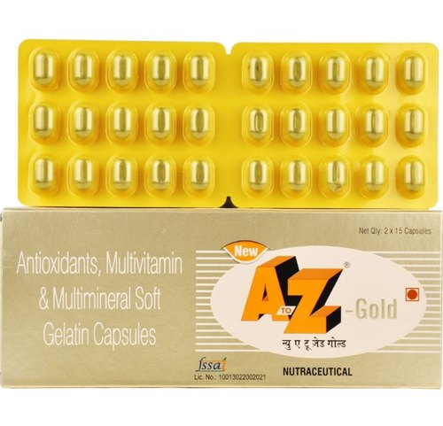 A to Z Gold Tab