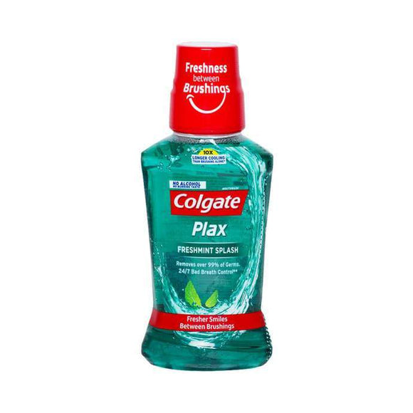Colgate Plax Fresh Mint Splash Alcohol Free Mouth Wash