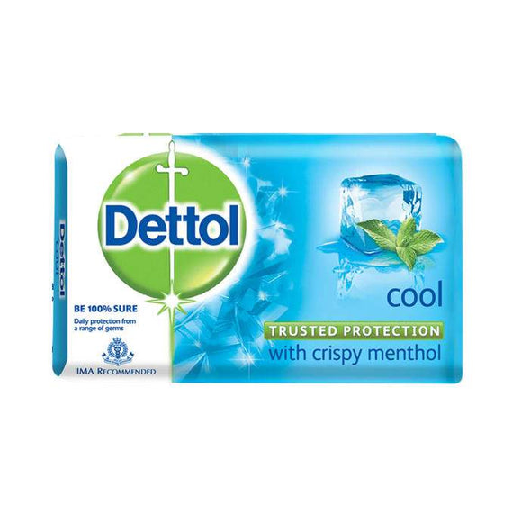 Dettol Cool Soap  (Pack of 4 + 1 free)