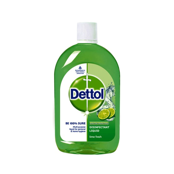 Dettol Lime Fresh Disinfectant Multi-Use Hygiene Liquid