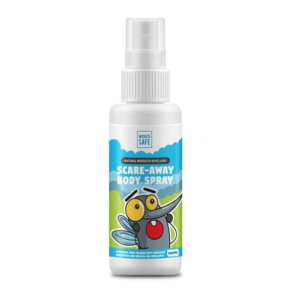 Moskito Safe 100% Natural Alcohol & DEET Free Mosquito Repellent Spray