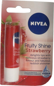 Nivea Fruity Shine Strawberry Caring Lip Balm