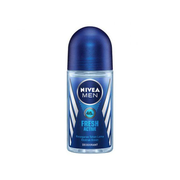 Nivea Men Roll On Deodorant - Fresh Active
