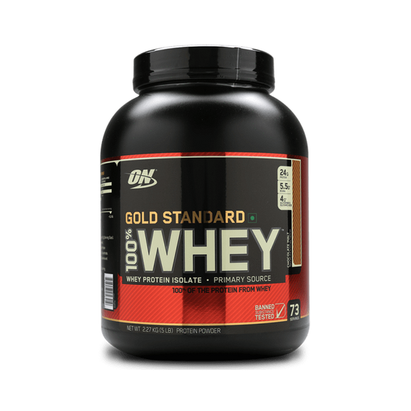 Optimum Nutrition (ON) Gold Standard 100% Whey Protein Powder Chocolate Malt