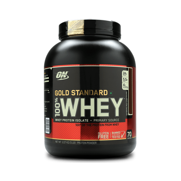 Optimum Nutrition (ON) Gold Standard 100% Whey Protein Powder Extreme Milk Chocolate