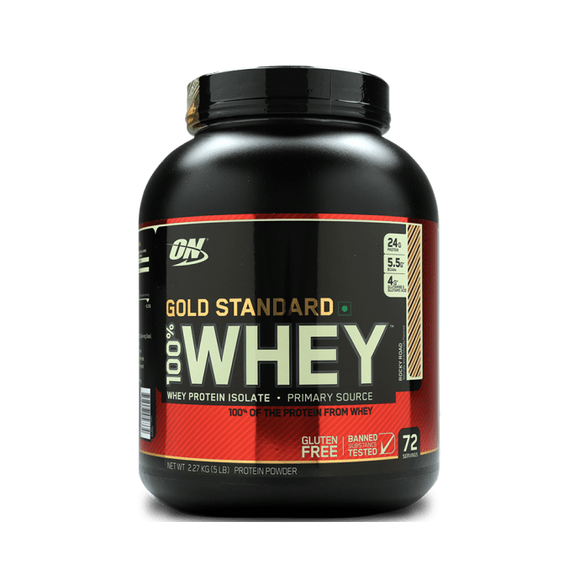 Optimum Nutrition (ON) Gold Standard 100% Whey Protein Powder Rocky Road