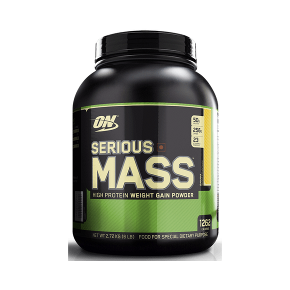 Optimum Nutrition (ON) Serious Mass Weight Gain Powder Banana