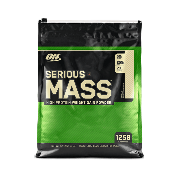 Optimum Nutrition (ON) Serious Mass Weight Gain Powder Vanilla