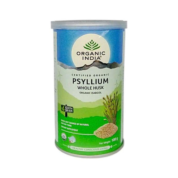 Organic India Whole Husk Psyllium