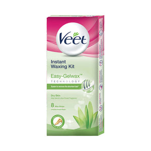 Veet Instant Waxing Kit for Dry Skin