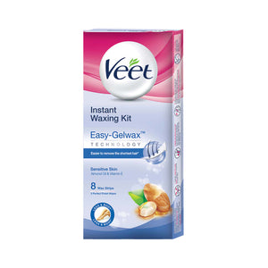 Veet Instant Waxing Kit for Sensitive Skin