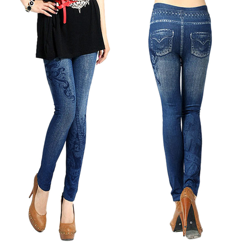 Denim Jeggings Vaquero