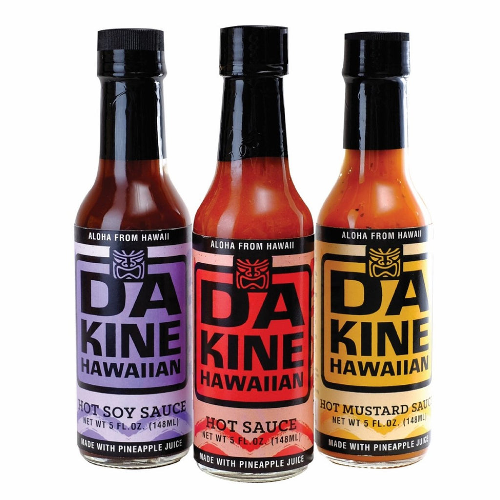 Da Kine Hawaiian Hot Sauce Set