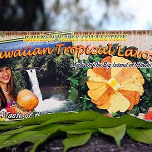Rainbow Falls Hawaiian Tropical Lavosh (Set of 9)