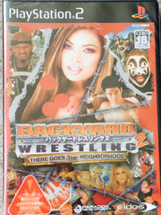 Backyard Wrestling 2 Japanese Edition! Playstation 2