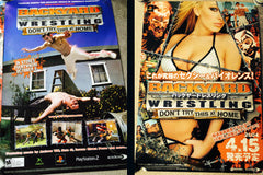 BACKYARD WRESTLING POSTER BUNDLE