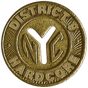 "District 9 NYC TOKEN 1"" PIN"