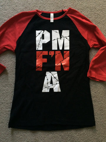 LADIES 3/4 SLEEVE PM F'N A !!