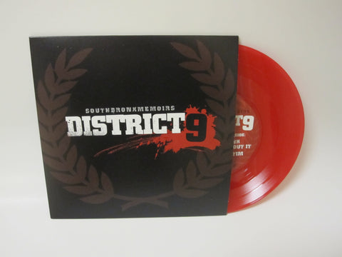 "District 9 SouthBronxMemoirs 7"" Red Vinyl *SOLD OUT*"