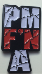 "PM F'N A 1.25"" Enamel Lapel Pin *Limited Edition*"