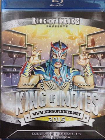 King Of Indies Blu Ray (2 DISC SET)