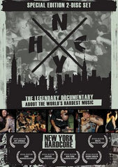 N.Y.H.C. Documentary Double DVD and Bonus District 9 Schoolahardknox CD!