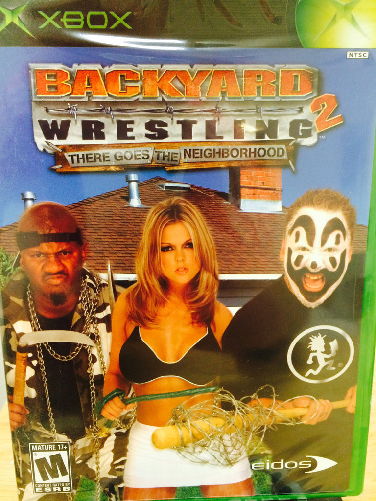 Backyard Wrestling 2 There Goes The Neighborhood- XBOX STILL SEALED! BRAND  NEW! - Backyard Wrestling 2 There Goes The Neighborhood- XBOX STILL SEALED