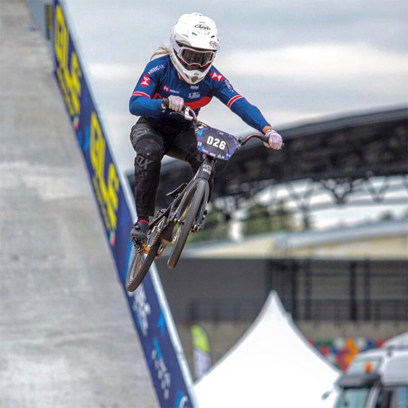 Ellie Featherstone the 19 year old BMX Pro on creating her Legacy